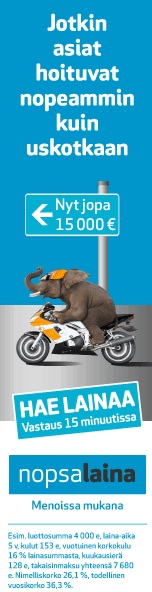 vippi 100 euroa