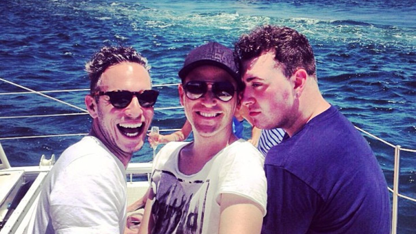 Ugh, Sam Smith's Vacation Snaps With His Boyfriend Are Ridiculously Adorable