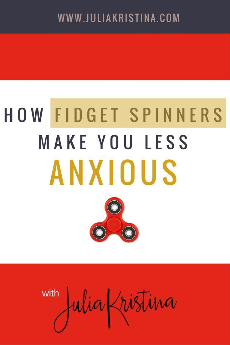 Fidget spinners --- they are all the rage right now. But what are fidget spinners anyway? Maybe you know all about them, or maybe you've recently heard about them for the first time and want to know more. Did you know that fidget spinners help with anxiety and with stress also? But how do fidget spinners help with anxiety and stress? Click to watch the video now or Pin it for later!