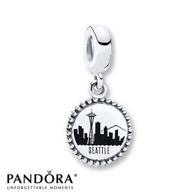 Pandora Dangle Charm Seattle Sterling Silver | Pandora charms ...