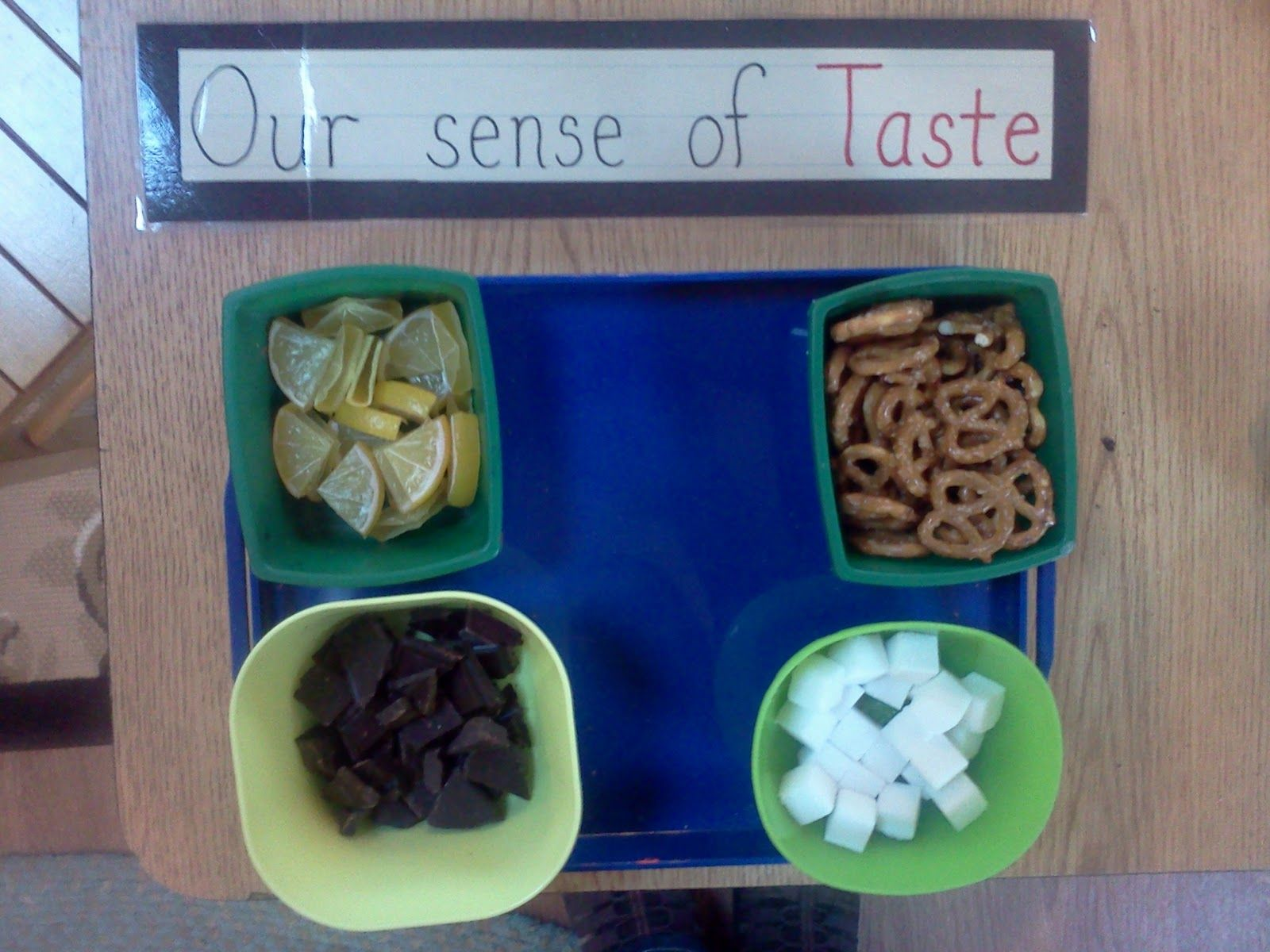 Montessori Design Sense Of Taste