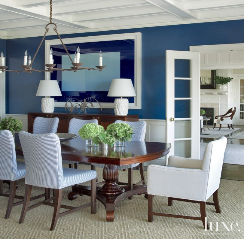 Living Room And Kitchen Stage By Synergy Staging: The Dining Table By Robert Lighton Sets The Stage For More