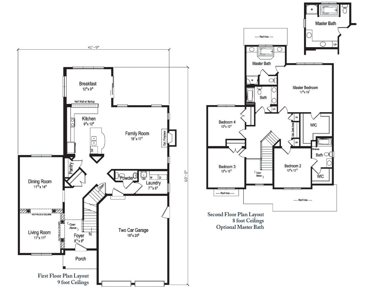 Devlyn Of Generation Collection All American Homes Floor Plans Floor Plan Layout Modular Home Designs