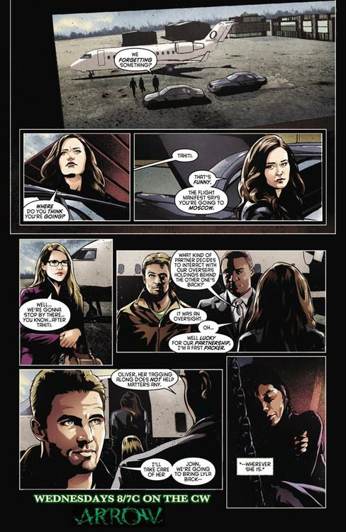 Arrow - Keep your enemies closes - Comic