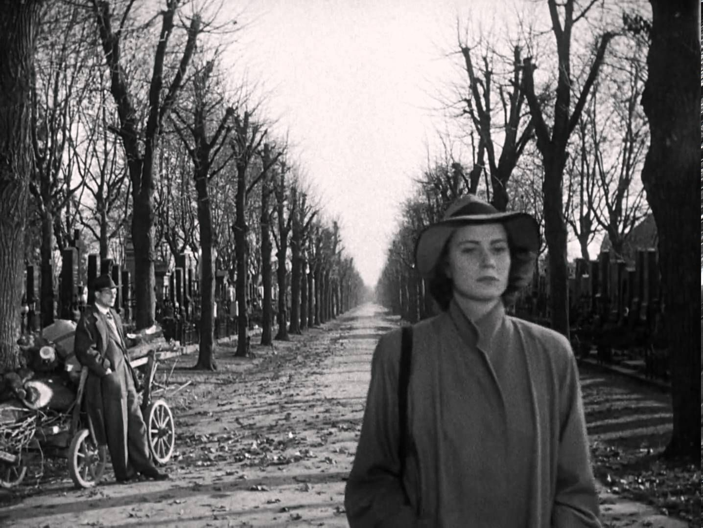 The Third Man 1949. Final scene. Perhaps one of cinema's most effective  closing shot of all time.   The third man, Thriller film, Film dance