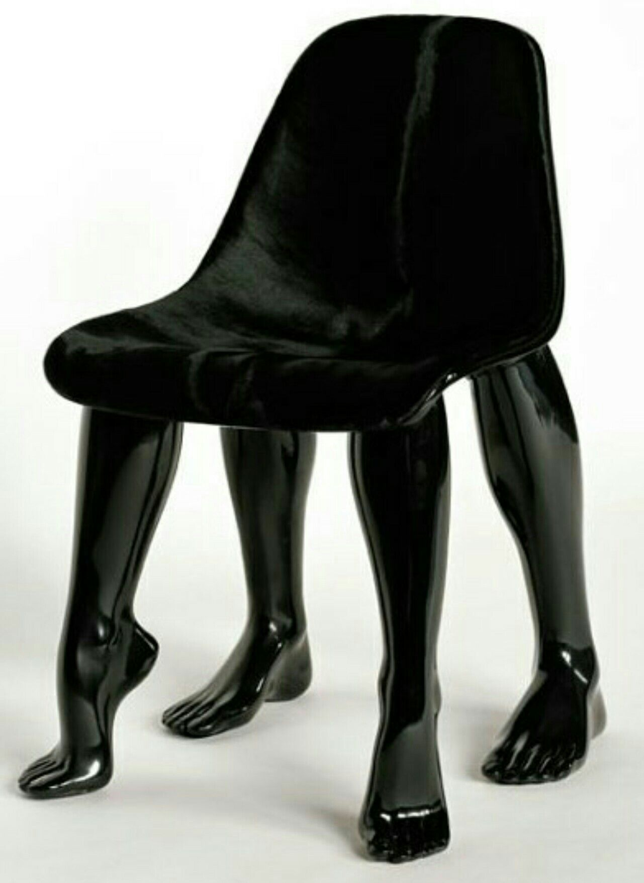 Black Chair Point Of View Chair Design Unusual Furniture
