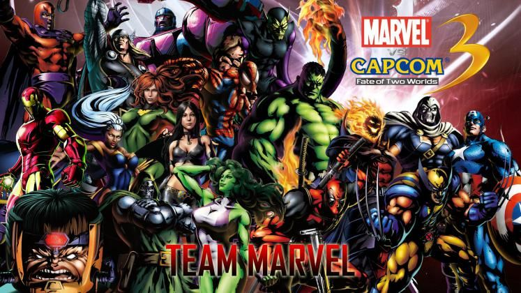 Ultimate Marvel Vs Capcom 3 Wallpaper Wallpaper Hd Gaming Wallpaper