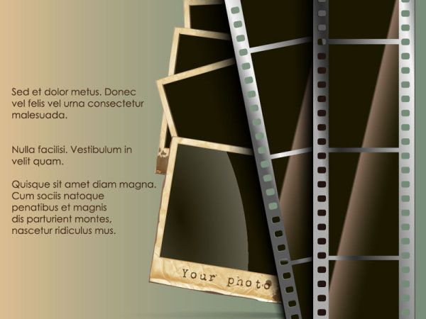 Vintage Film scrap banckground vector 04   Movie   Pinterest ...