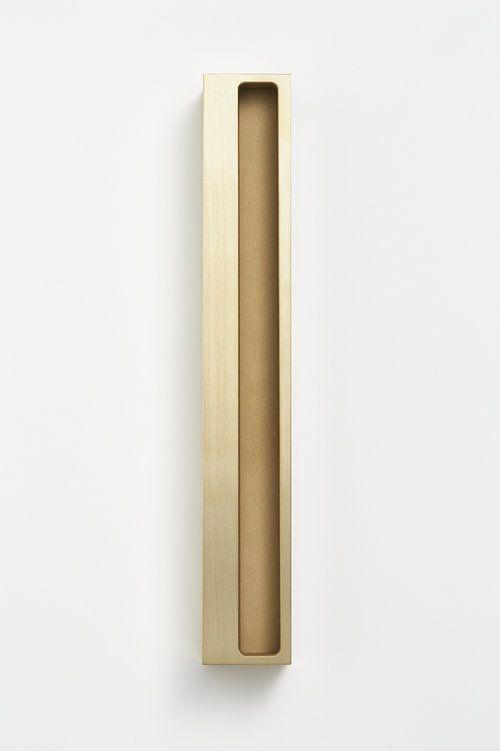 Flush Pull Deep 300mm Brass | Detail | Pinterest | Doors ...