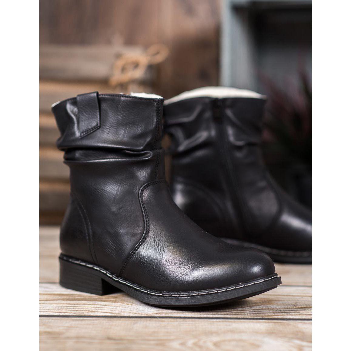 Super Me Warm Cowboy Boots Black Boots Black Boots Women Black Cowboy Boots