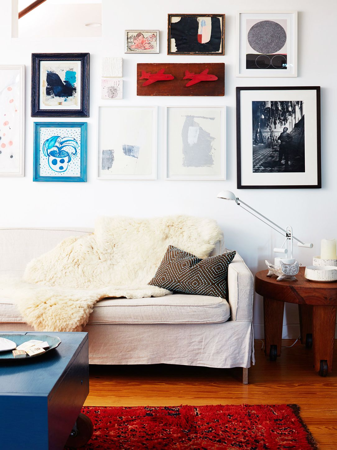 Invest in good frames for artwork and make the space look higher-end.