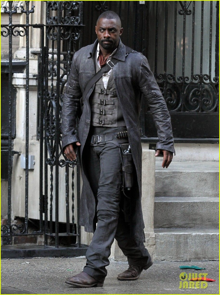 15 Year Boys Bedroom: A Tough-Looking Idris Elba In On-Set Pics As Gunslinger