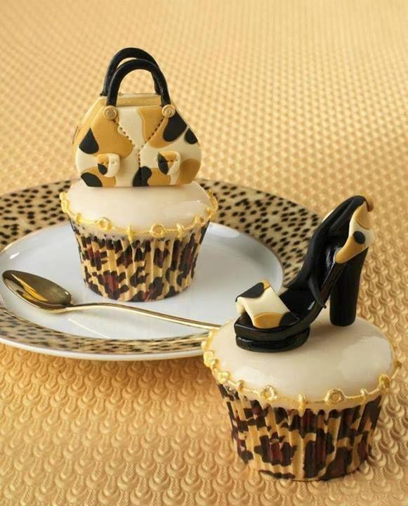 cupcakes handtas en hak