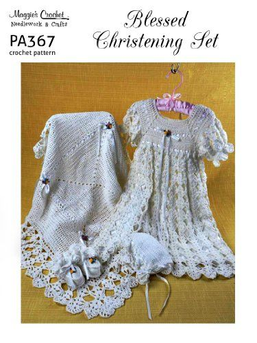 Free Easy to Crochet Christening Gown Pattern | Babys und Häkeln