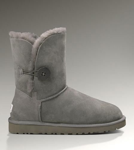 bddb95f380d UGG Bailey Button Boots 5803 Grey - UGGs Outlet Save more than $100 ...