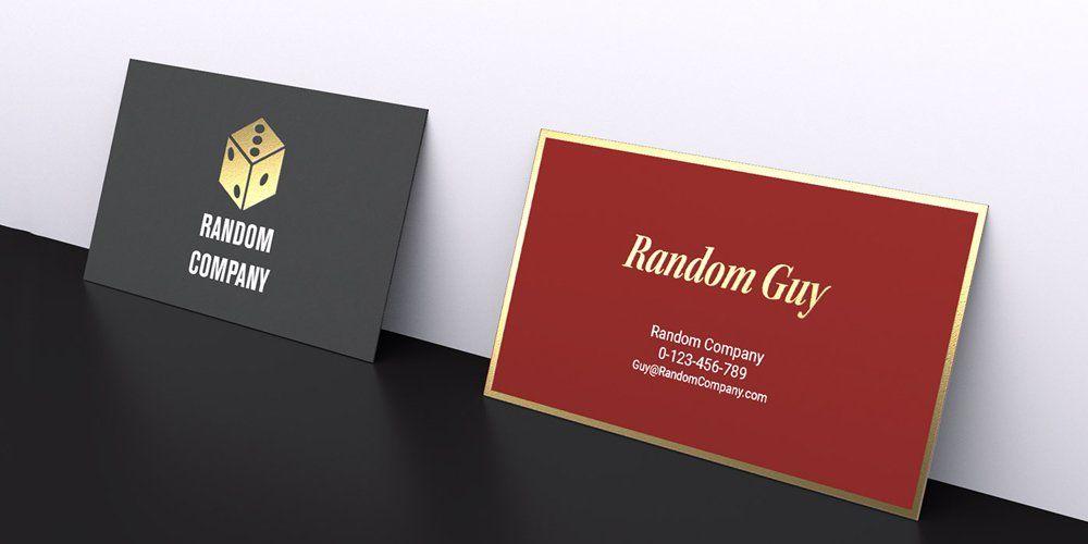 Free Gravity Business Card Mockup Psd  Free Business Card Mockup