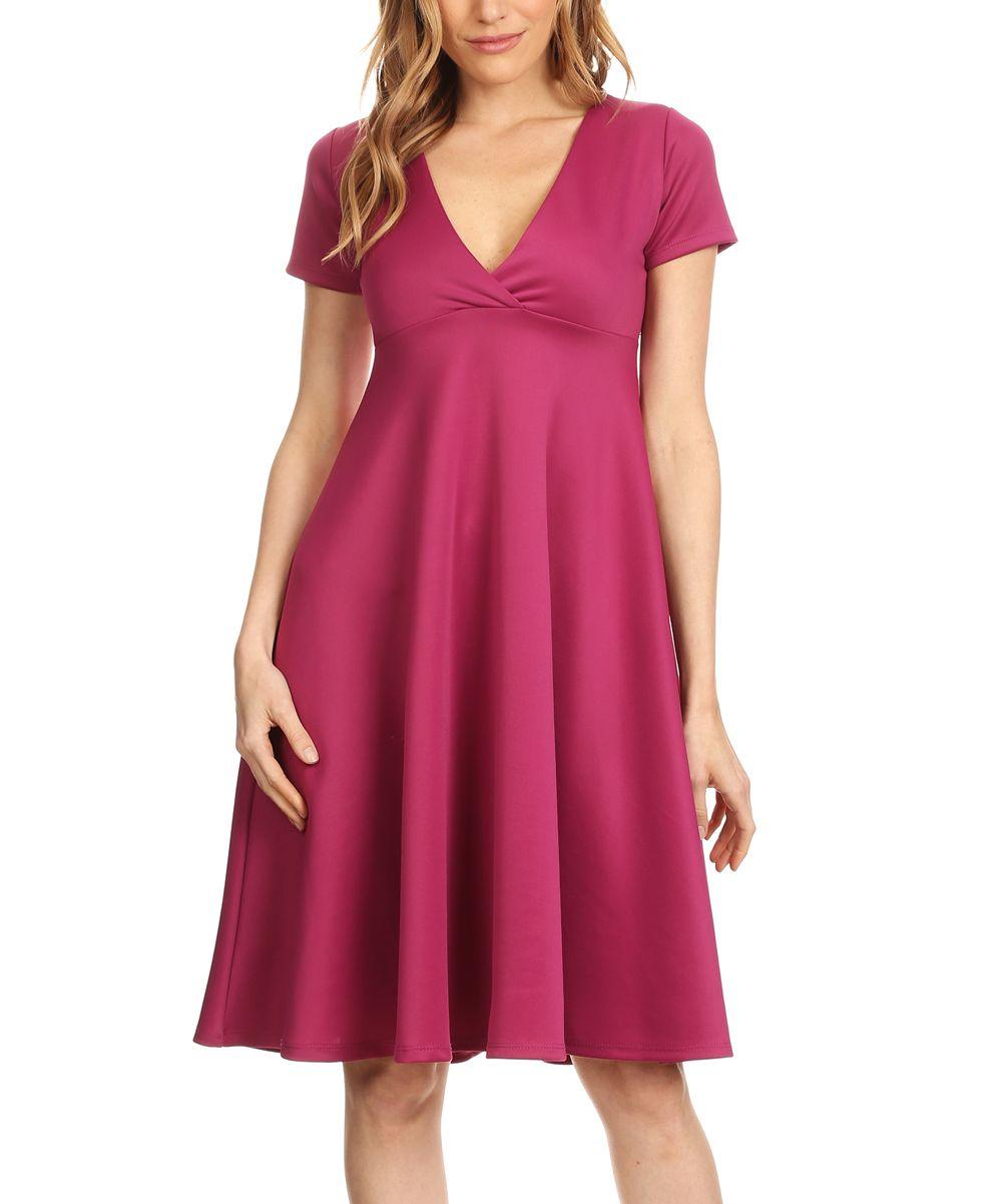 Violet crossoverbodice empirewaist dress plus too products