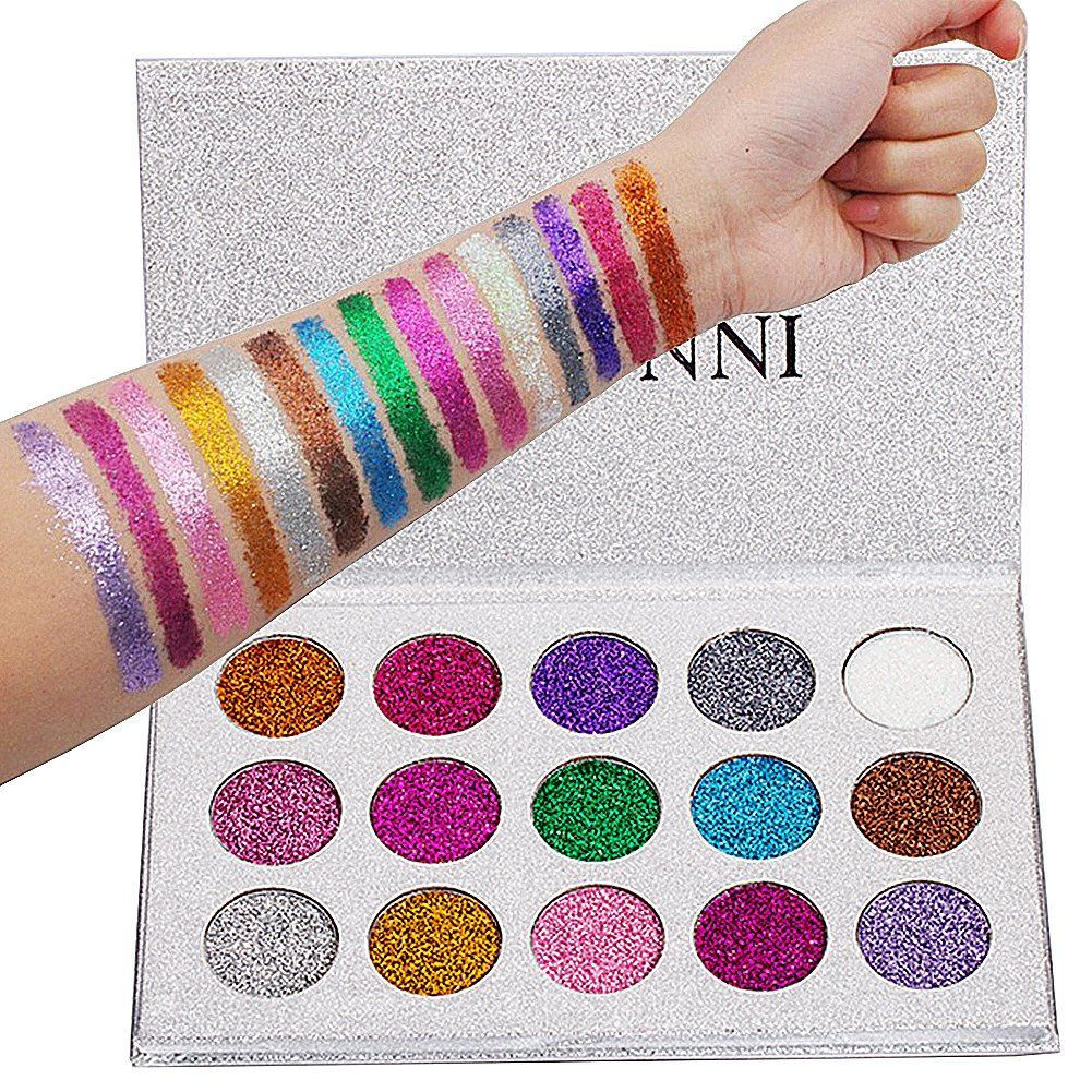 VERONNI 15 Colors Pro Mineral Shimmer Glitter Eye Shadow
