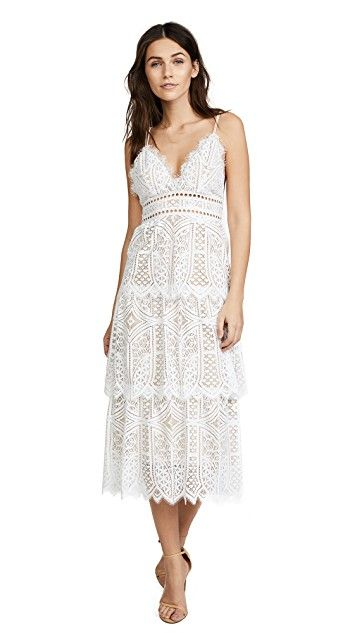 7570aa2de Sunny Tiered Lace Dress | Products I Love | Lace dress, Dresses, Lace