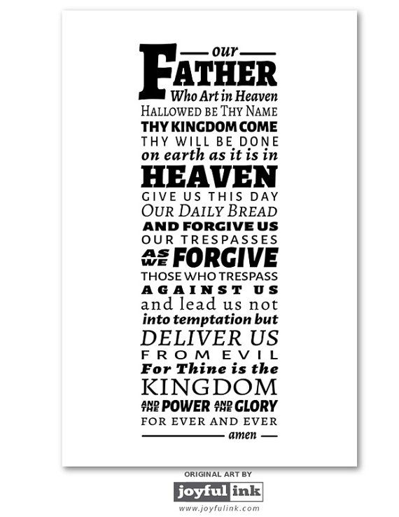 The Lords Prayer Pdf