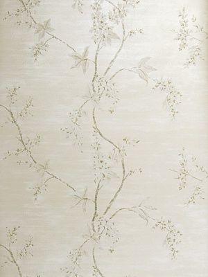 DecoratorsBest - Detail1 - Stroheim 6147204 - HARCOURT - Silver Pearl - Wallpaper - DecoratorsBest