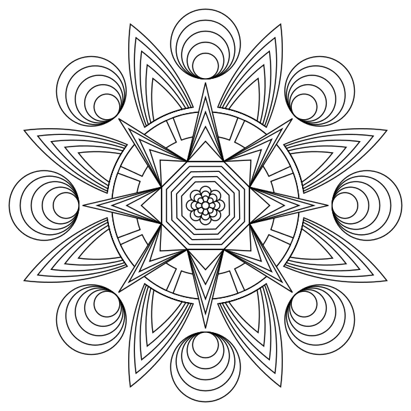Tons Of Printable Mandala Designs Free For Download Print These
