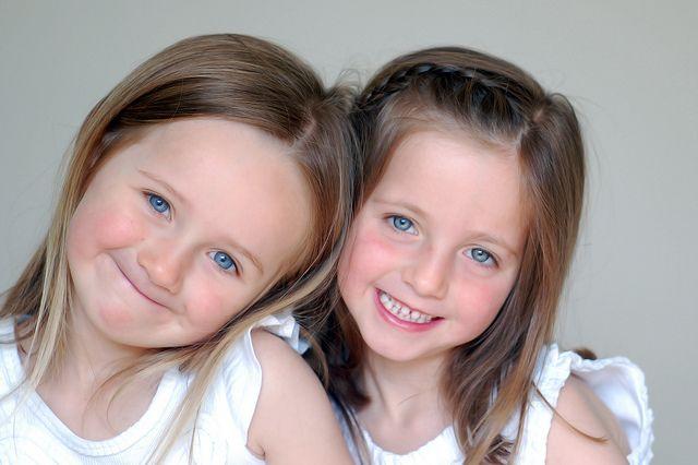 Olivia and Minnie.