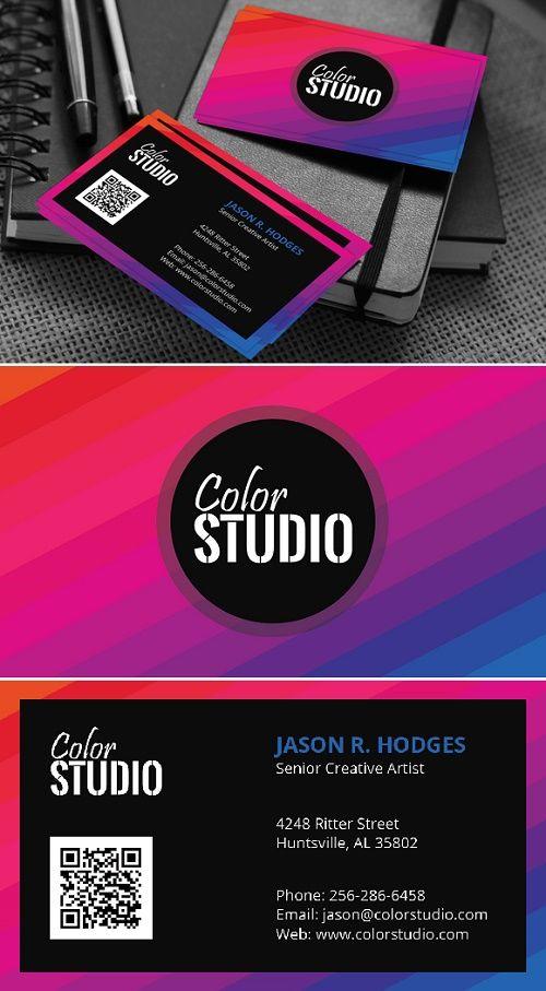 Creative studio business card 643481 pinterest creative studio business card 643481 colourmoves