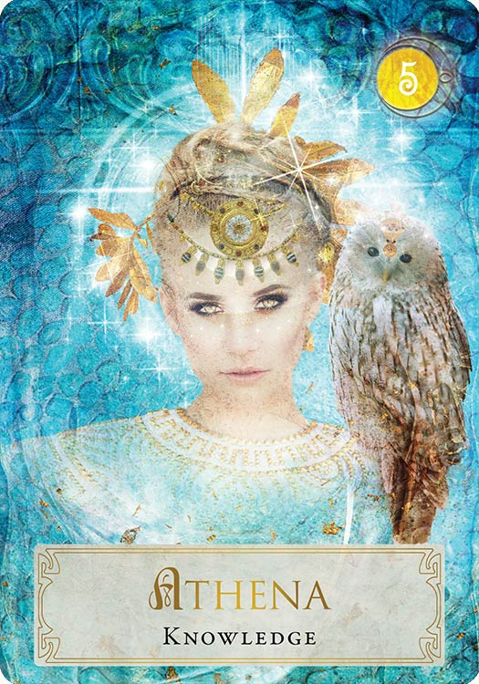 Goddess Power Oracle Athena Knowledge Athena The Greek Goddess Of Intellect And Strategy Says Knowledge Is Power And Athena Goddess Greek Gods Goddess