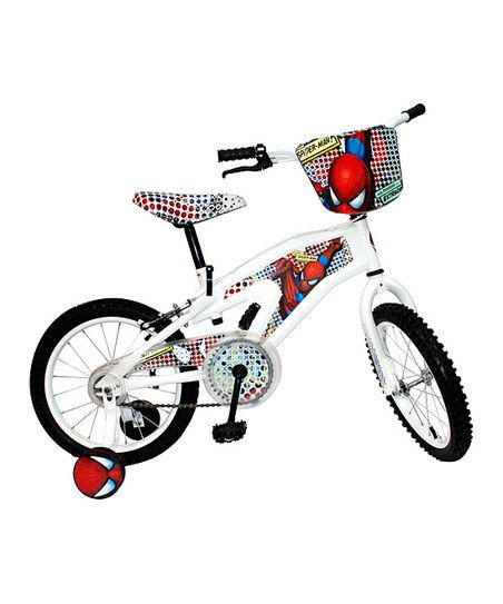 White Street Flyers 16 Spiderman Bicycle Kids Stuff Bicycle