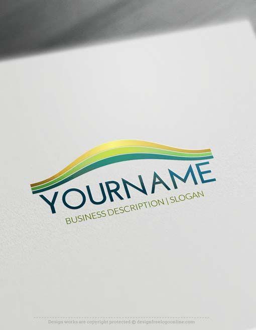 Online Logo Maker Landscape Logo Design | Stuff to Buy