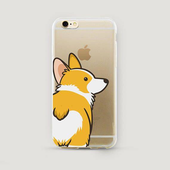 quality design a55c3 cef3a Funny Corgi iPhone X Case, Dog iPhone 8 Plus Case, Gift for Dog ...