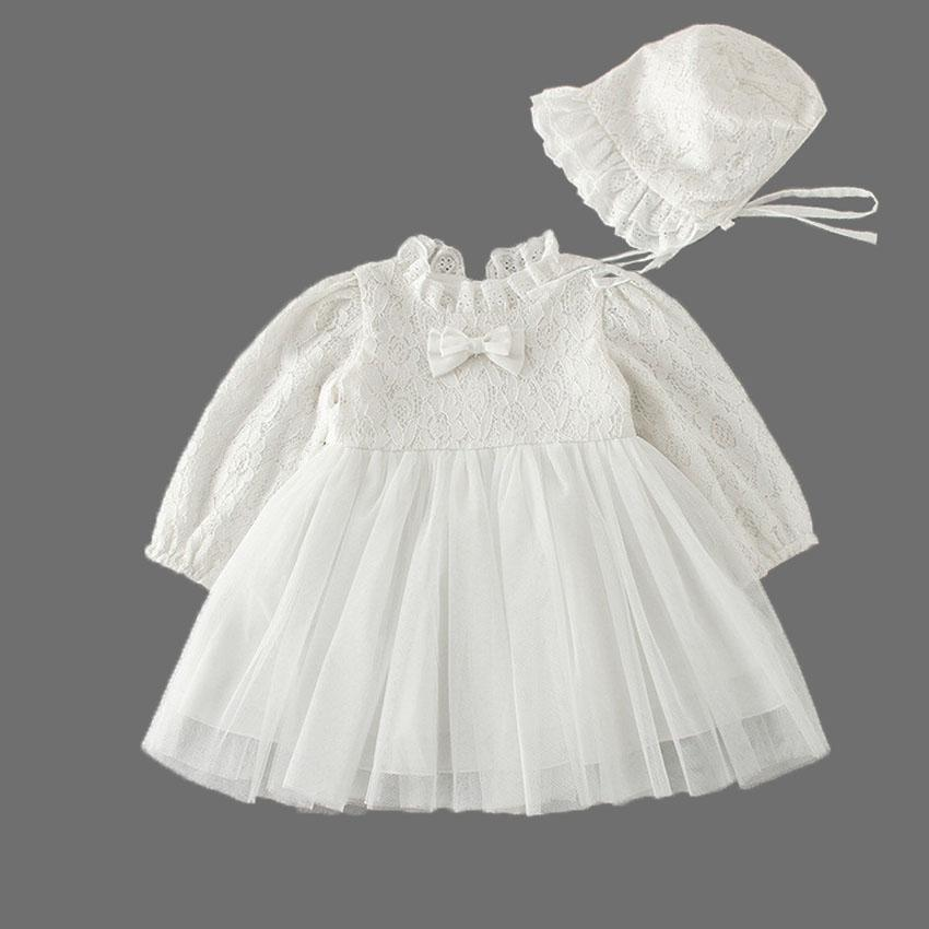 93d069f403fea Emma long sleeve Christening Dress | Baby klary | Dresses, Baby ...
