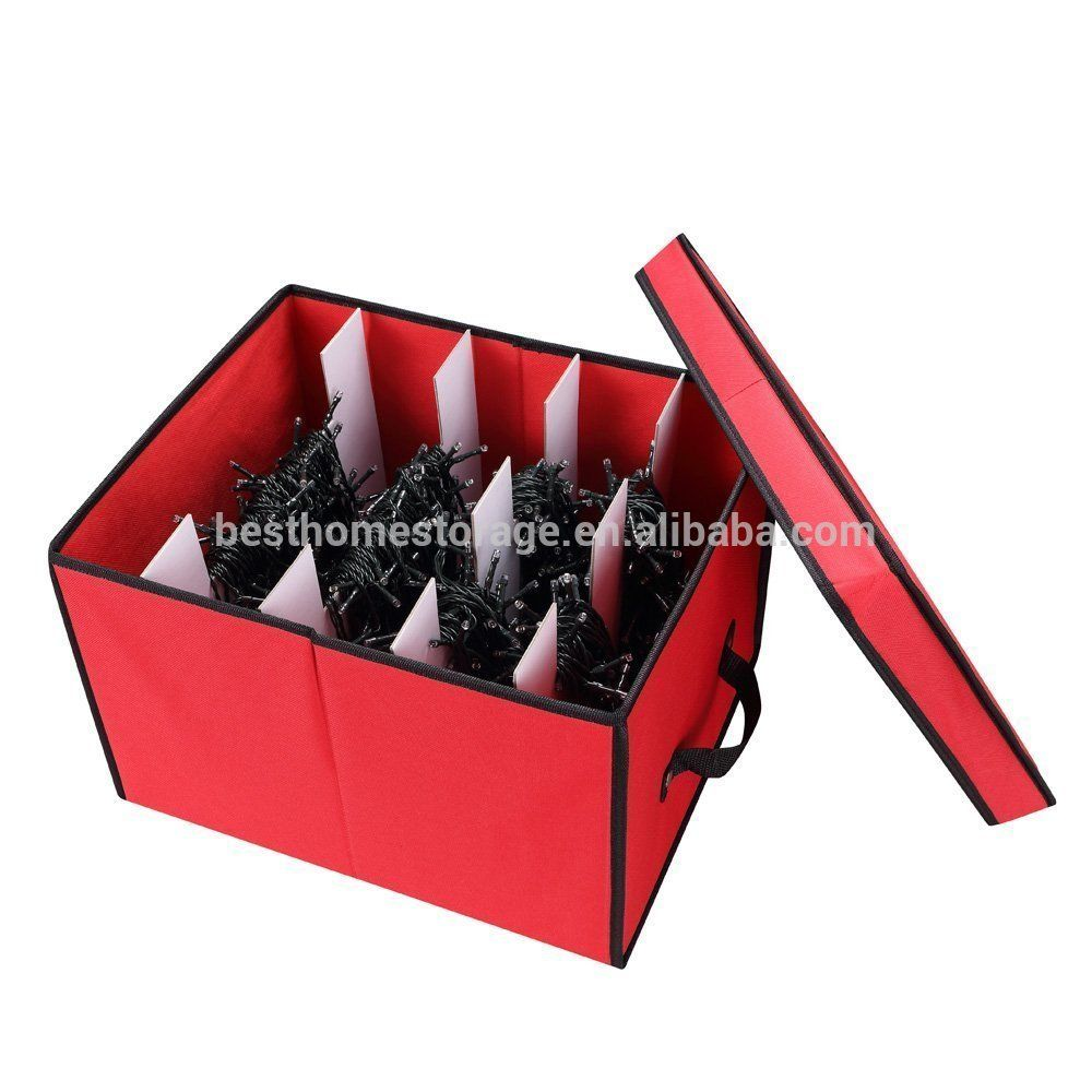 Holiday Foldable Light Storage Box View Foldable Storage Box Le Sort Product Details From Ningbo Kingdom Home Fashion Co Ltd On Alibaba Com Storage Boxes With Lids Storing Holiday Decorations Storage Box