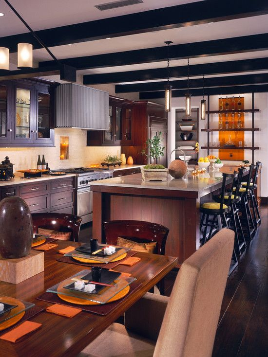Tropical Kitchen Decor: Tropical Kitchen Design, Pictures, Remodel, Decor And