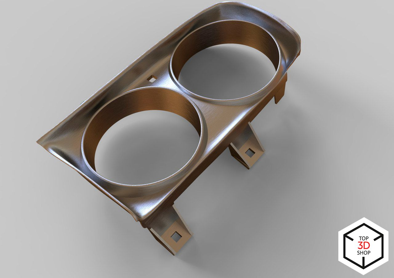 Just made a 3D model of car headlight trim for our client
