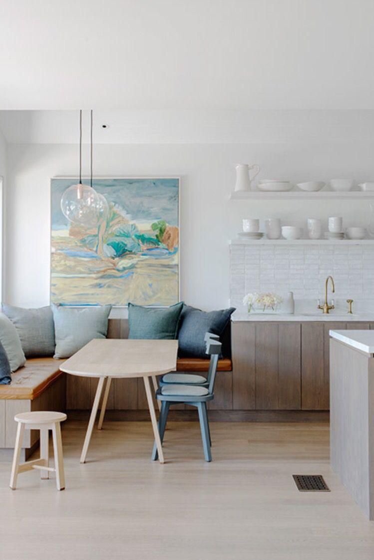 kitchen corner bench seating kichler lighting cucina/angolo pranzo senza soluzio | accessori pinterest ...