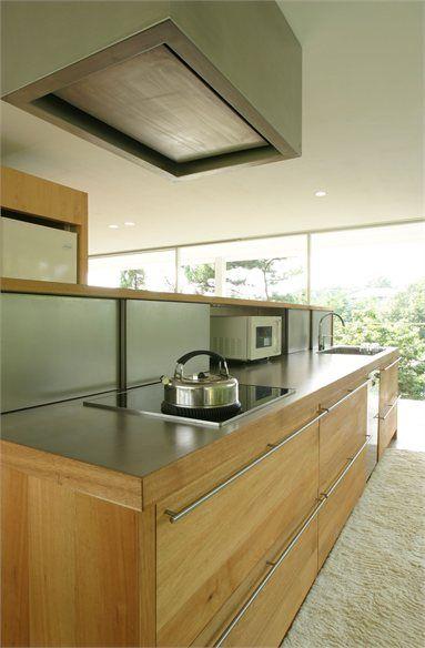 Suishouen House - Nagoya, Japan - 2012 - Tomoaki Uno Architects #architecture #interiors #design #japan #kitchen