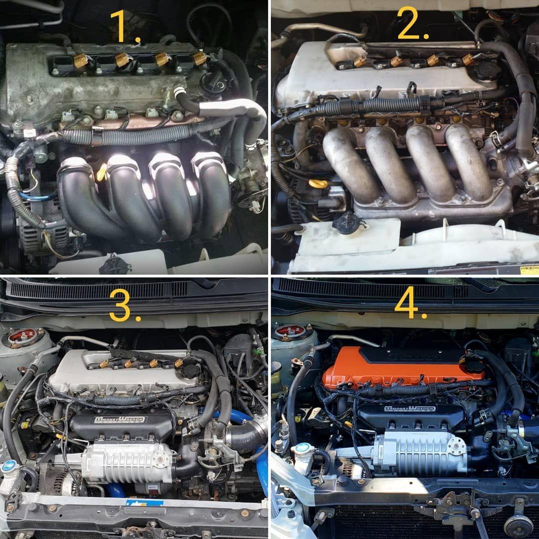 One step at a time  1  1ZZ-FE (stock motor) 2  2ZZ-GE (N/A