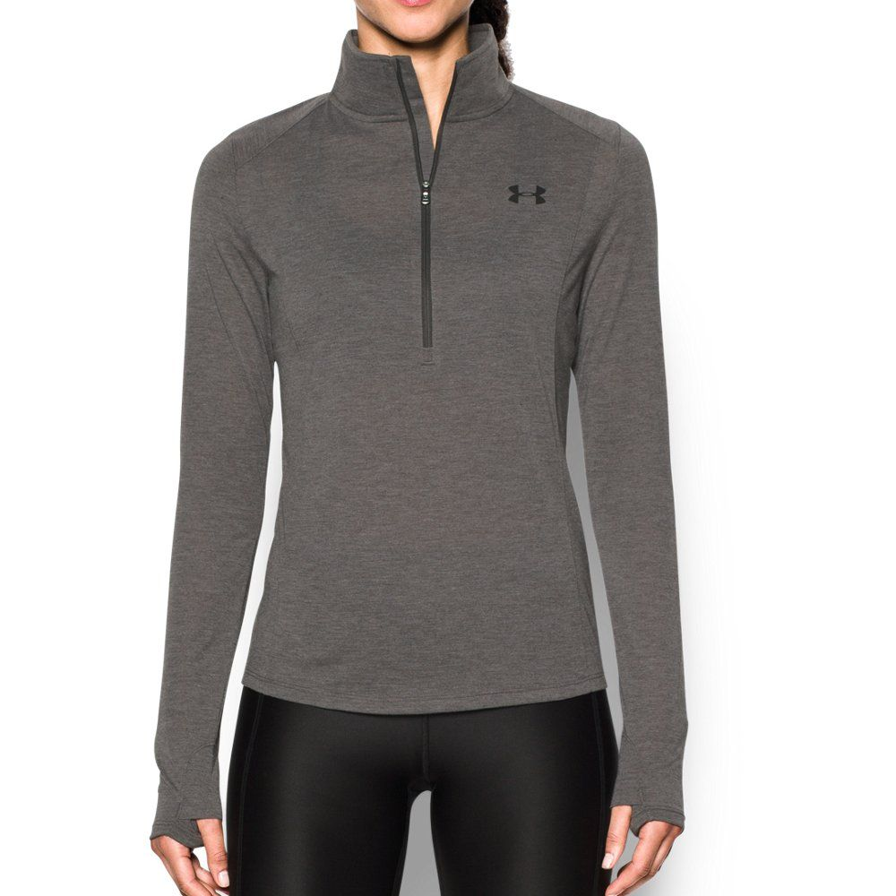 Under Armour Women s Threadborne ½ Zip. Under Armour Women s Threadborne  ½ Zip Gris ef337da59b8