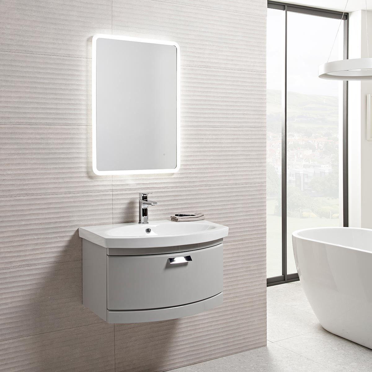 Tavistock Aster LED Backlit Illuminated Mirror 500 x 700 | Tavistock ...