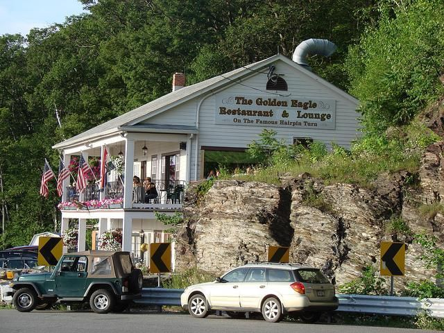 Golden Eagle Restaurant Clarksburg Ma On The Mohawk Trail With