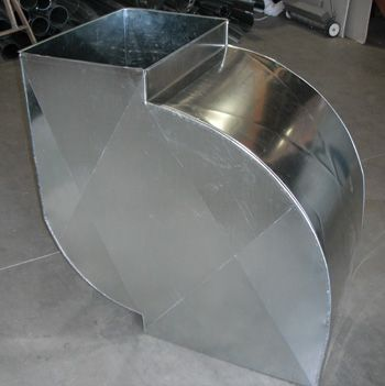 Custom Duct Work Fabrication Our In House Fabrication Shop Will Custom Make Duct Work Which Fits Better With With Images Duct Work Heating And Cooling Ventilation System