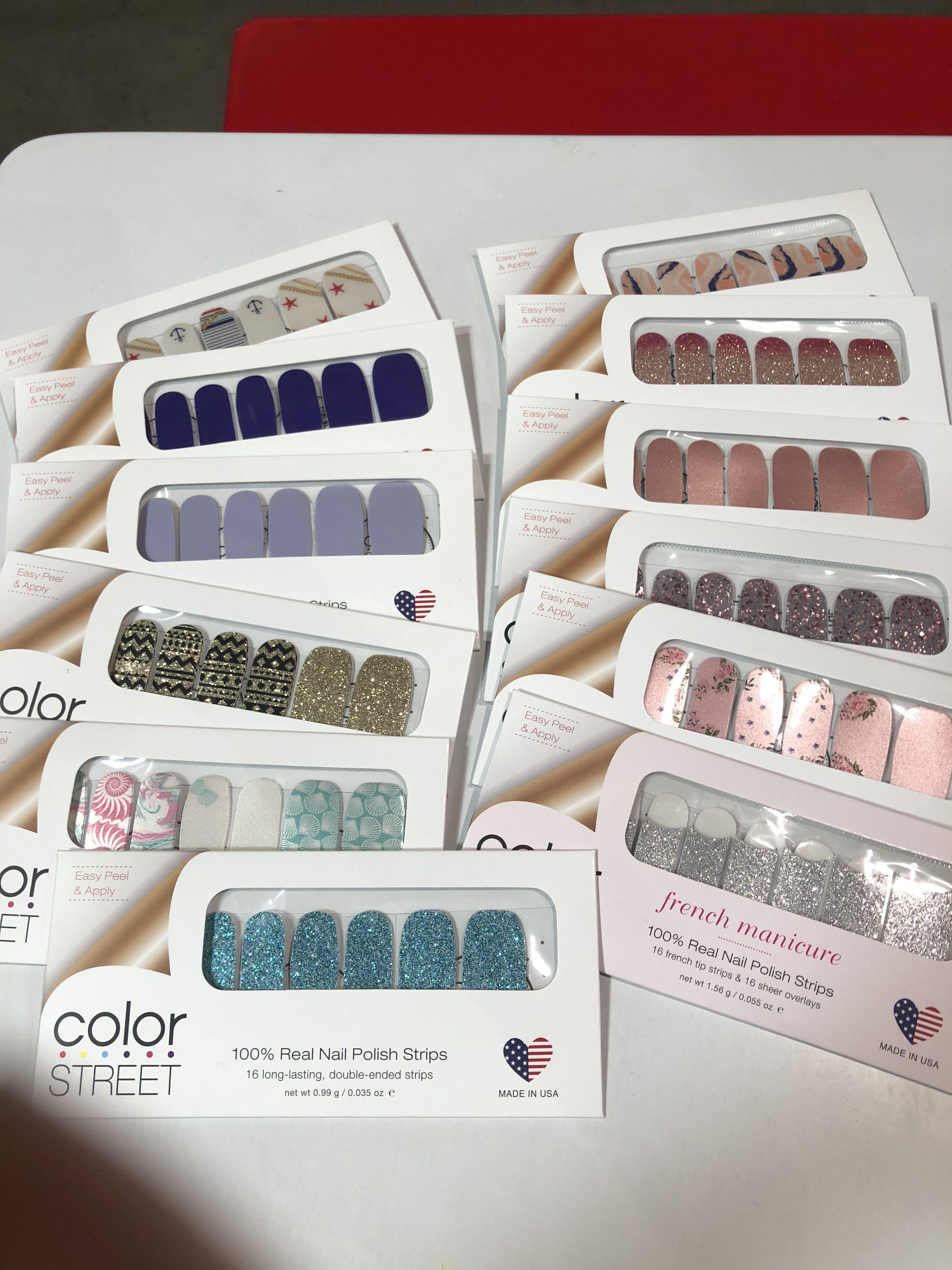 Some of the new spring collection! Request Free Real Nail Polish ...