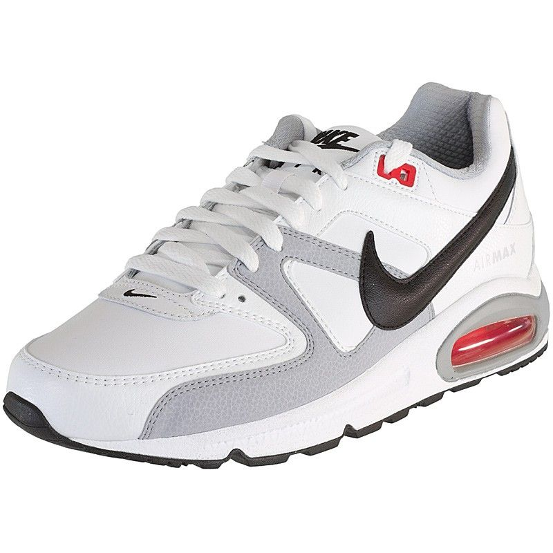 Sneaker Nike Air Max Command Leather Weiss Schwarz