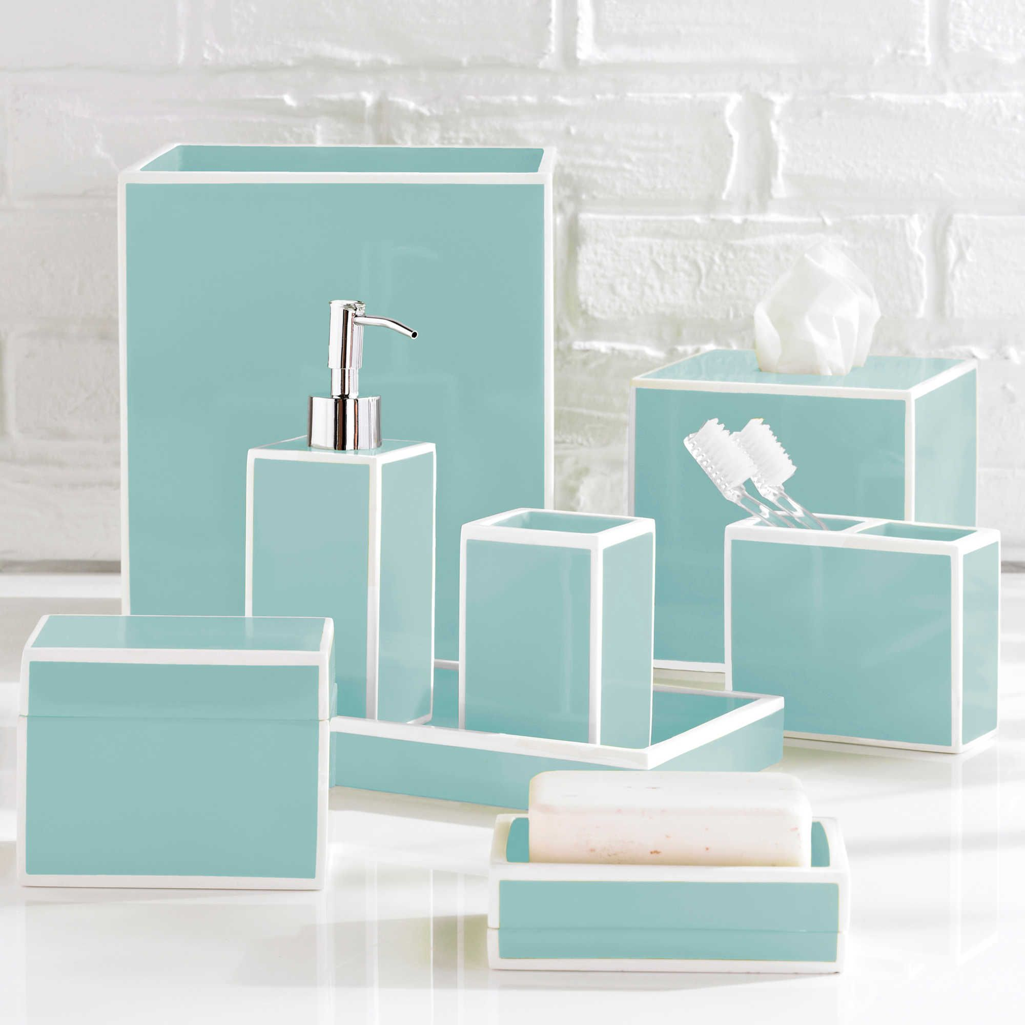 Katex Soho Bath Ensemble Tiffany Blue