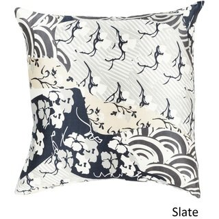 Decorative Lee 20-inch Poly or Feather Down Filled Throw Pillow