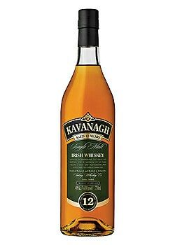 Kavanagh Single Malt 12 Year Irish Whiskey
