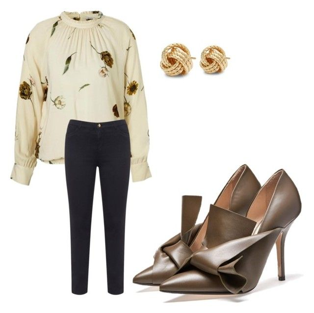 """Untitled #1"" by yokofb on Polyvore featuring Saks Fifth Avenue and SECOND FEMALE"