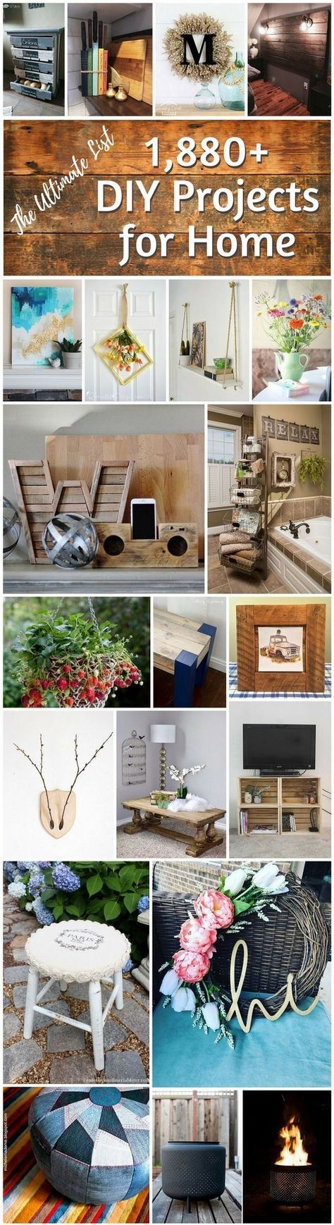 diy projects for home the ultimate list
